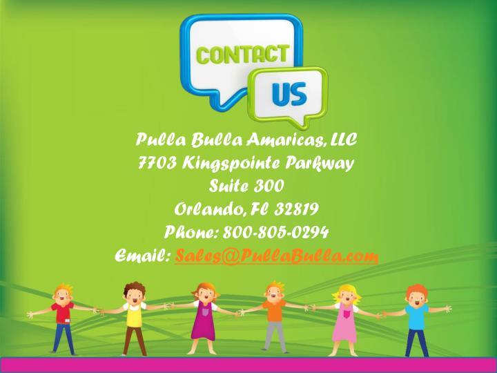 Pulla Bulla Amaricas, LLC