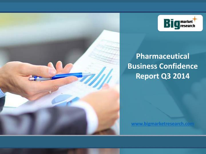 Pharmaceutical Business Confidence Report Q3 2014