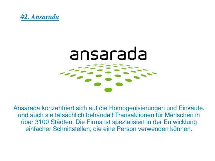 #2. Ansarada