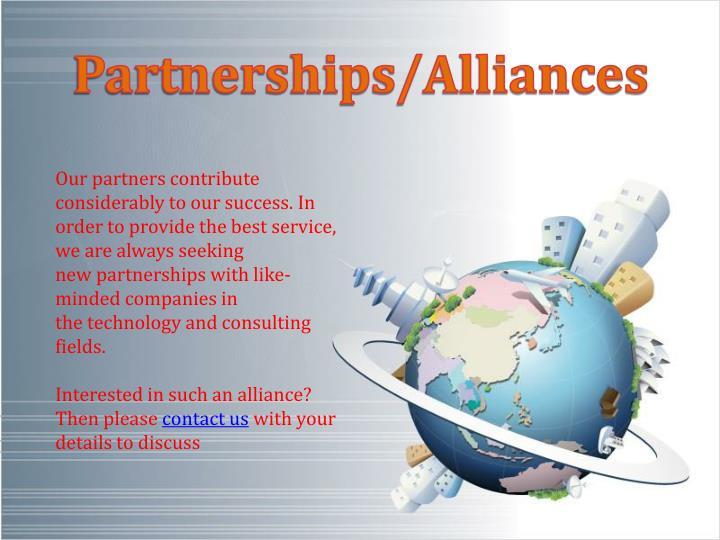 Partnerships/Alliances