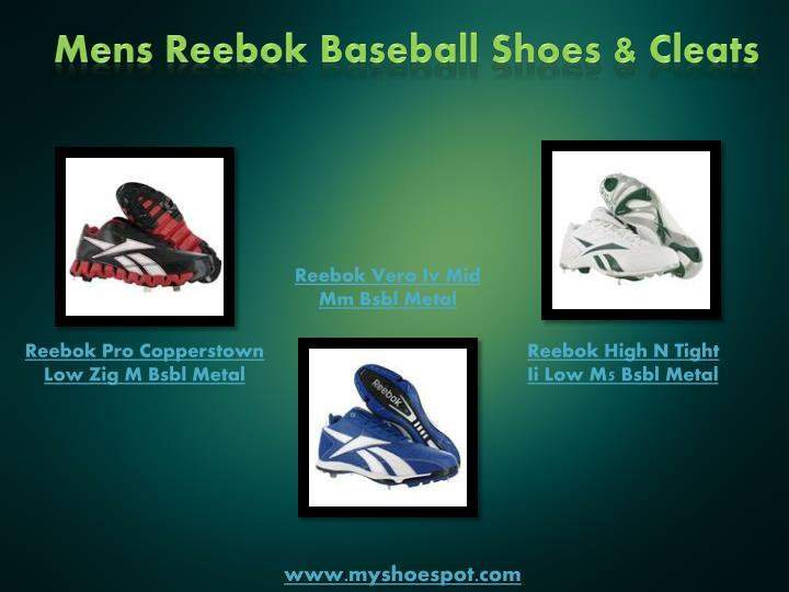 Mens Reebok Baseball Shoes & Cleats