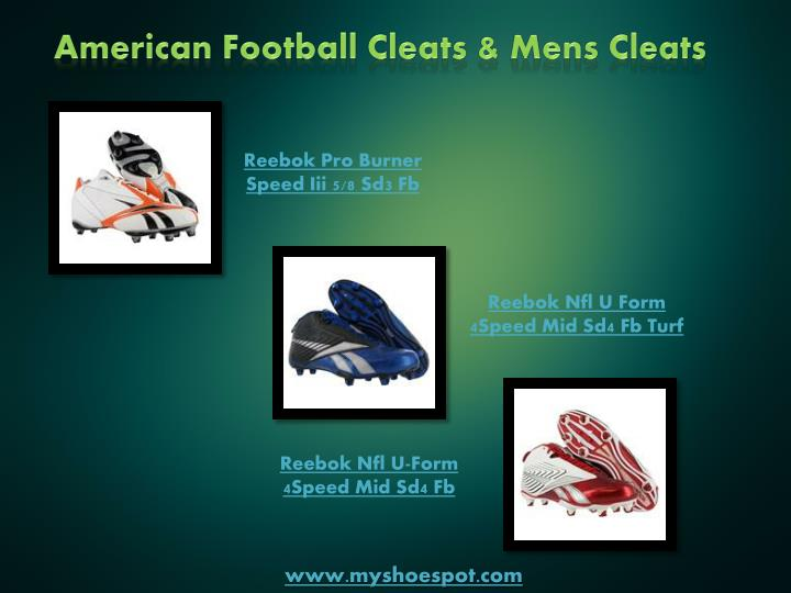 American Football Cleats & Mens Cleats