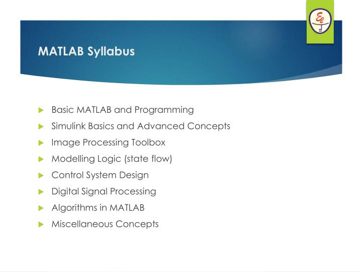 Basic MATLAB and