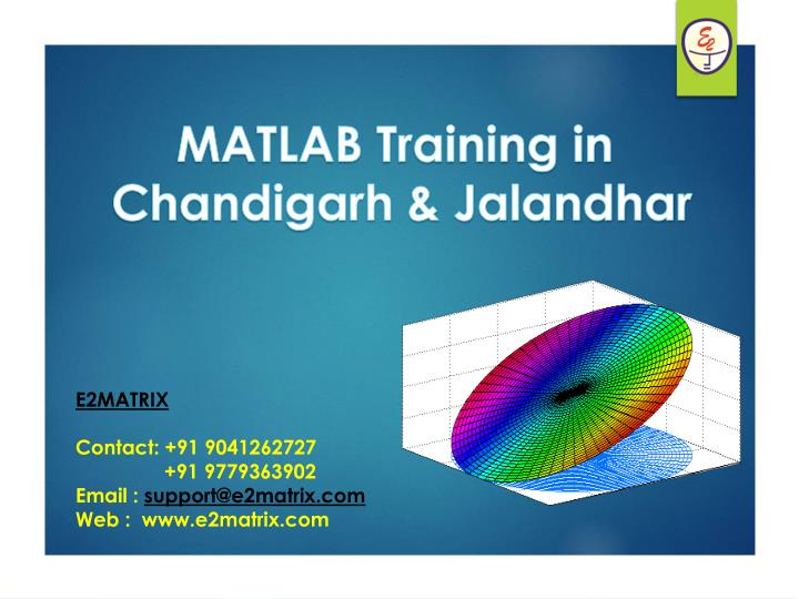 MATLAB Training in