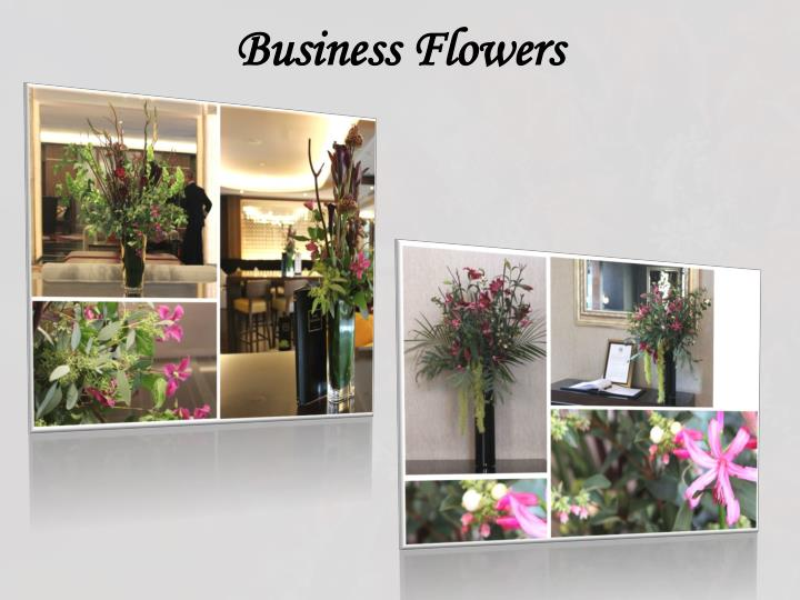 Business Flowers