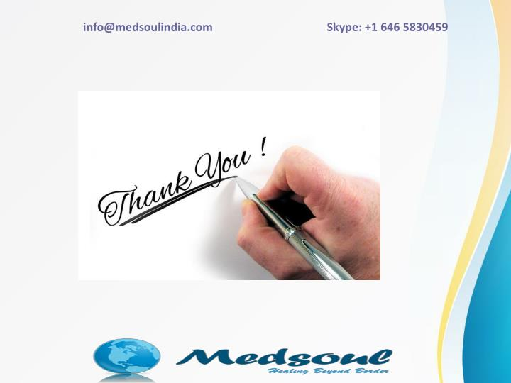 info@medsoulindia.com