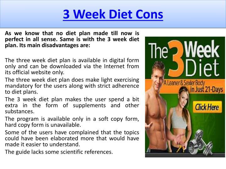 PPT - 3 Week Diet System Reviews & Special Discount ...
