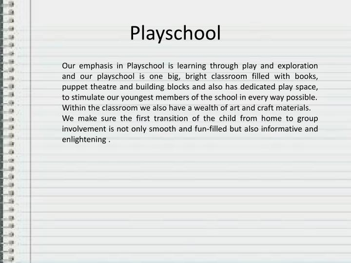 Playschool