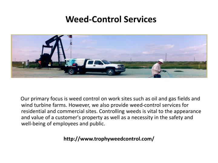 Weed-Control Services