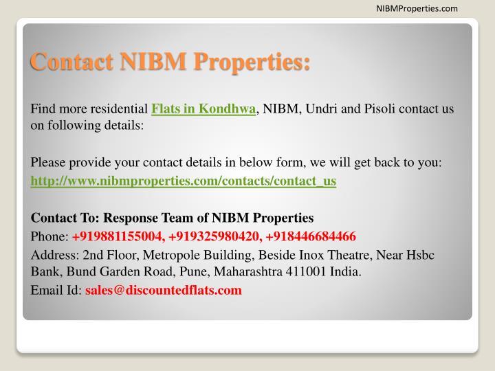 NIBMProperties.com