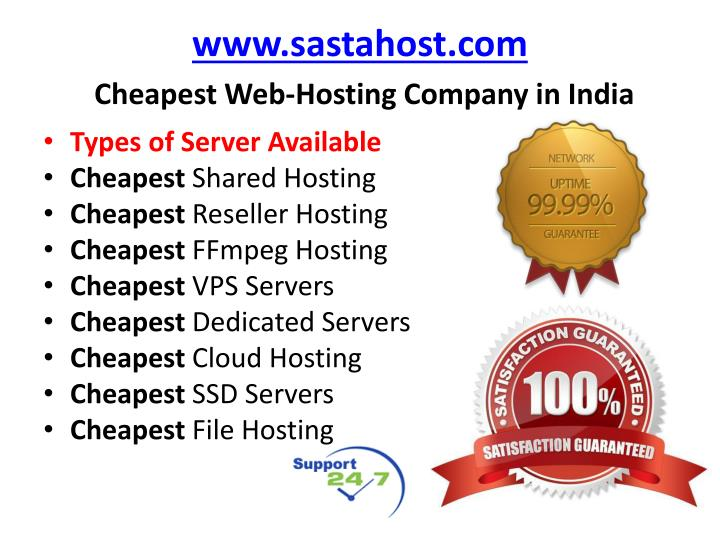 www.sastahost.com