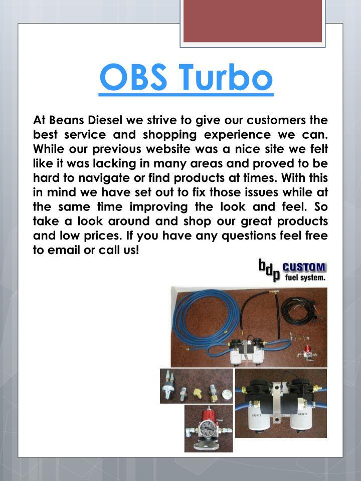 OBS Turbo