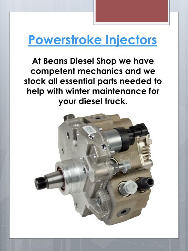 Powerstroke Injectors
