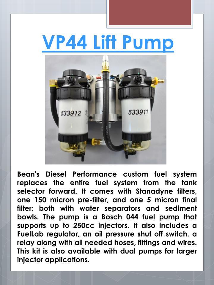 VP44 Lift Pump