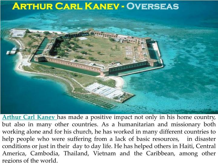 Arthur Carl Kanev -