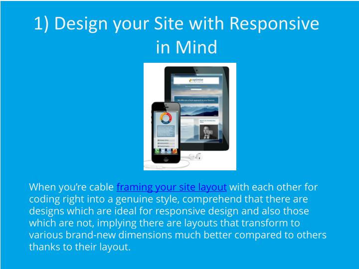 how to make your html mobile responsive