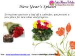 new year s splash