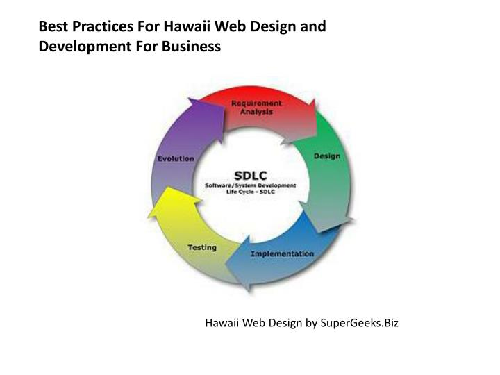 Best practices for hawaii web design and development for business