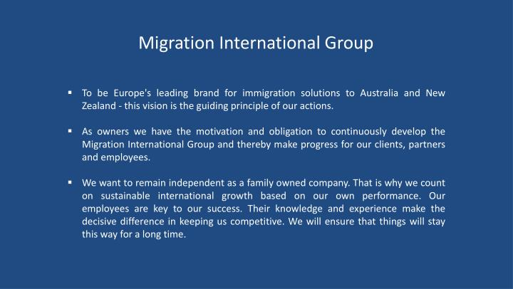 Migration International Group