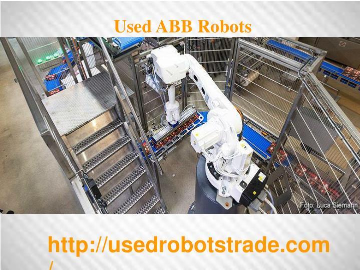 Used ABB Robots