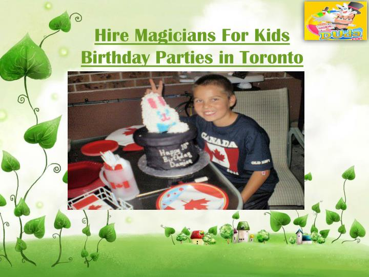 Birthday party places for adults toronto