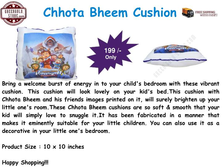Chhota Bheem Cushion