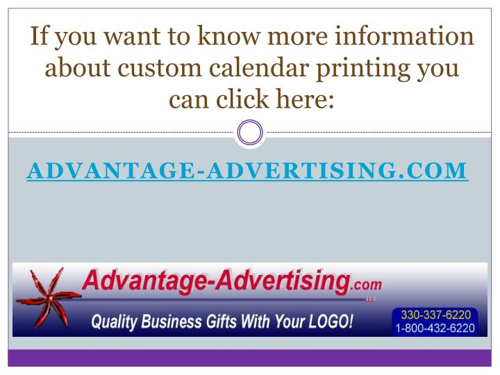 If you want to know more information about custom calendar printing you can click here: