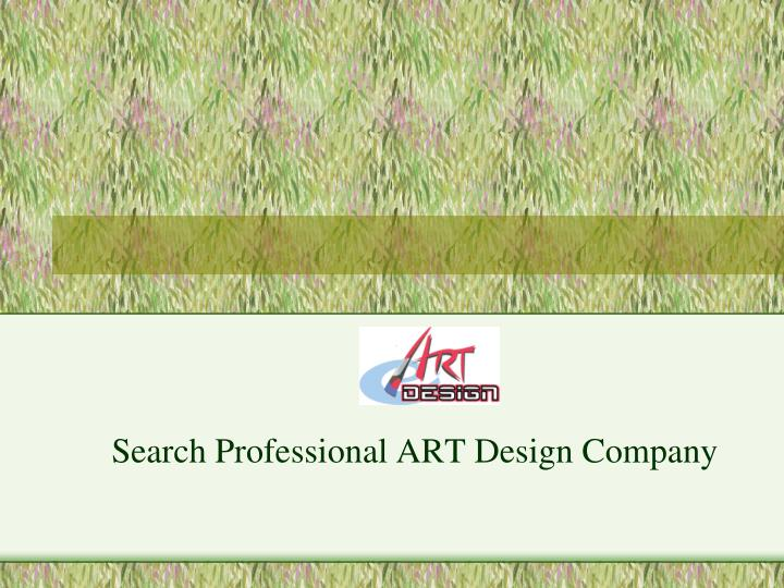 Search professional art design company