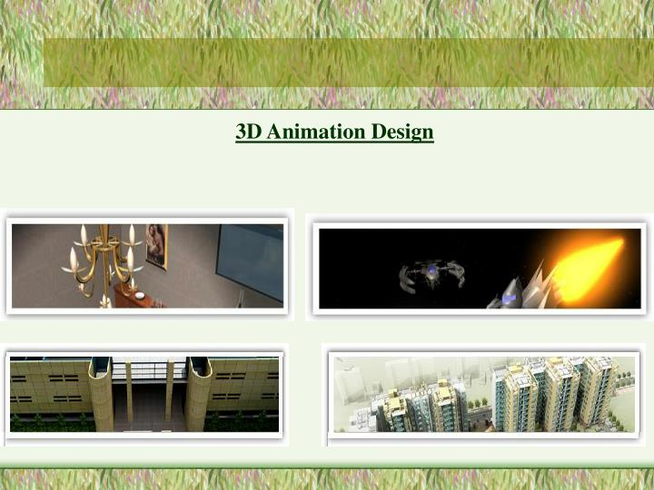 3D Animation Design
