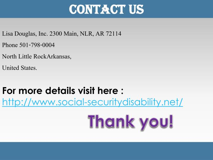 Ppt How Do You Apply For Social Security Disability