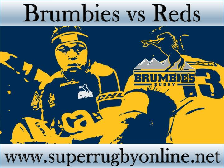 Brumbies vs Reds