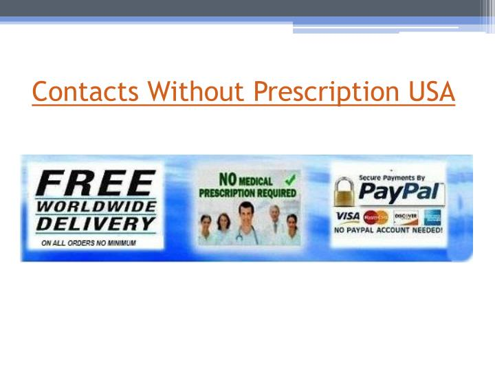 Contacts Without Prescription USA