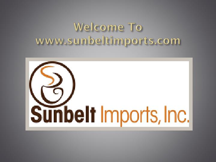 Welcome to www sunbeltimports com