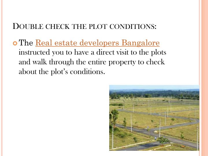 Double check the plot conditions: