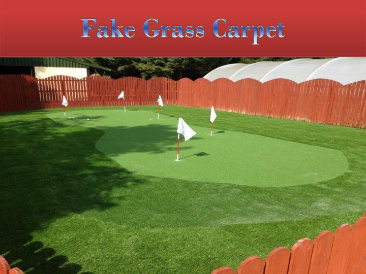 fake grass carpet