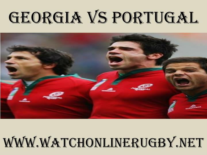 Georgia vs portugal