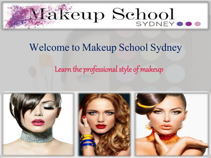 Welcome to makeup school sydney