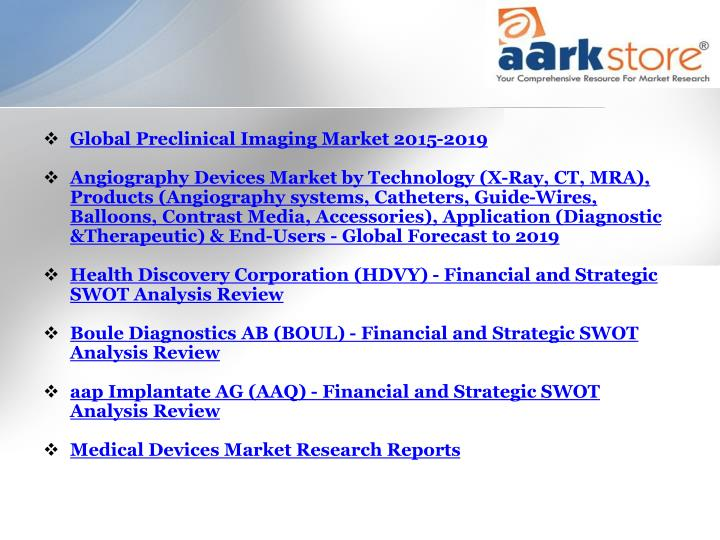 Global Preclinical Imaging Market