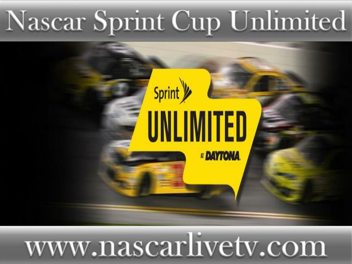 Nascar Sprint Cup Unlimited
