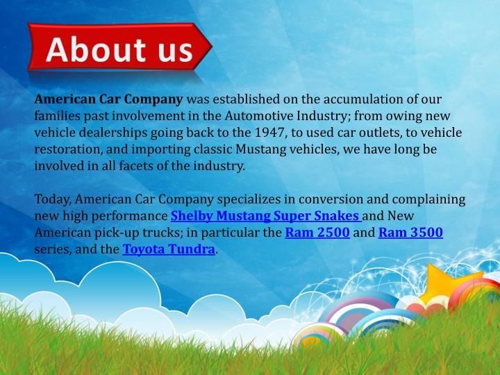 American Car Company