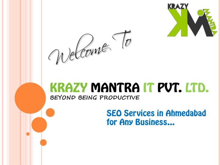 Krazy mantra it pvt ltd beyond being productive