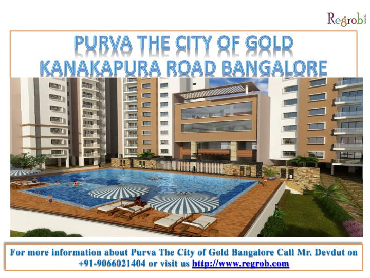 Purva the city of gold kanakapura road bangalore
