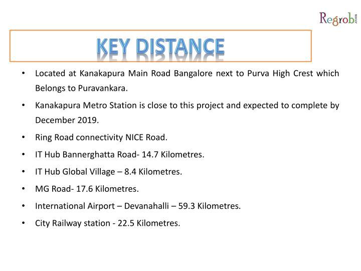 Key distance