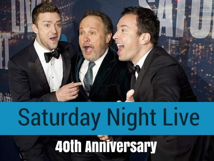 Saturday night live 40th anniversary
