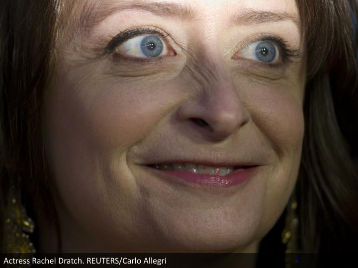 Actress Rachel Dratch. REUTERS/Carlo Allegri