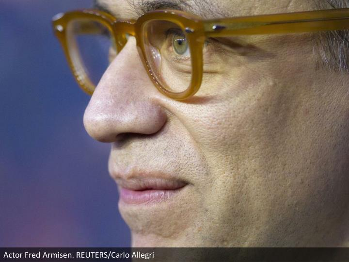 Actor Fred Armisen. REUTERS/Carlo Allegri