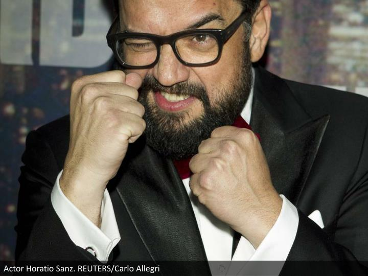 Actor Horatio Sanz. REUTERS/Carlo Allegri