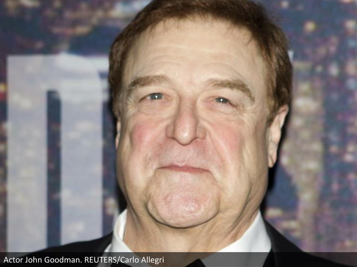 Actor John Goodman. REUTERS/Carlo Allegri
