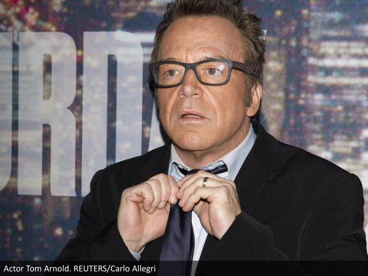 Actor Tom Arnold. REUTERS/Carlo Allegri