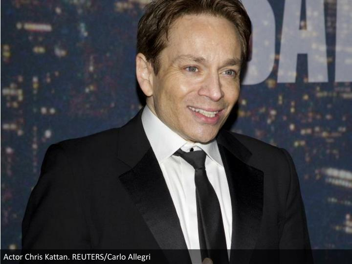 Actor Chris Kattan. REUTERS/Carlo Allegri